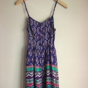 Peplum Sun Dress